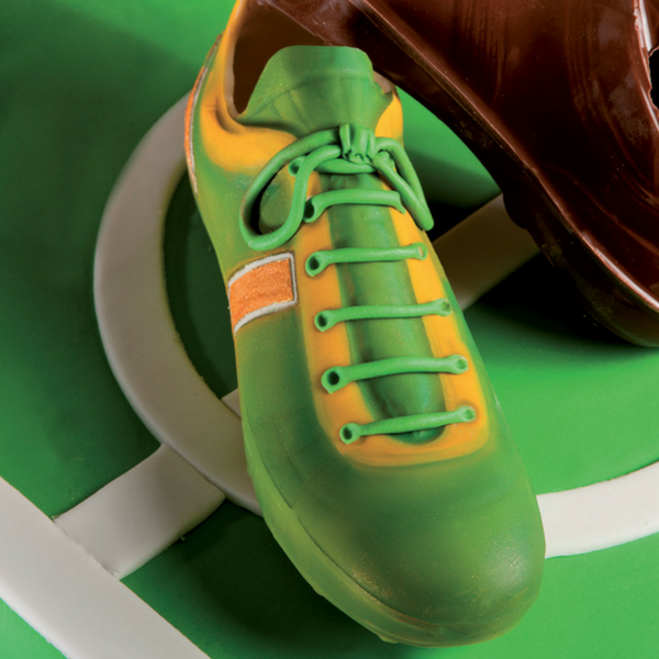 MARTELLATO, Chocolate Mould, Sports, Football Shoe (3D)