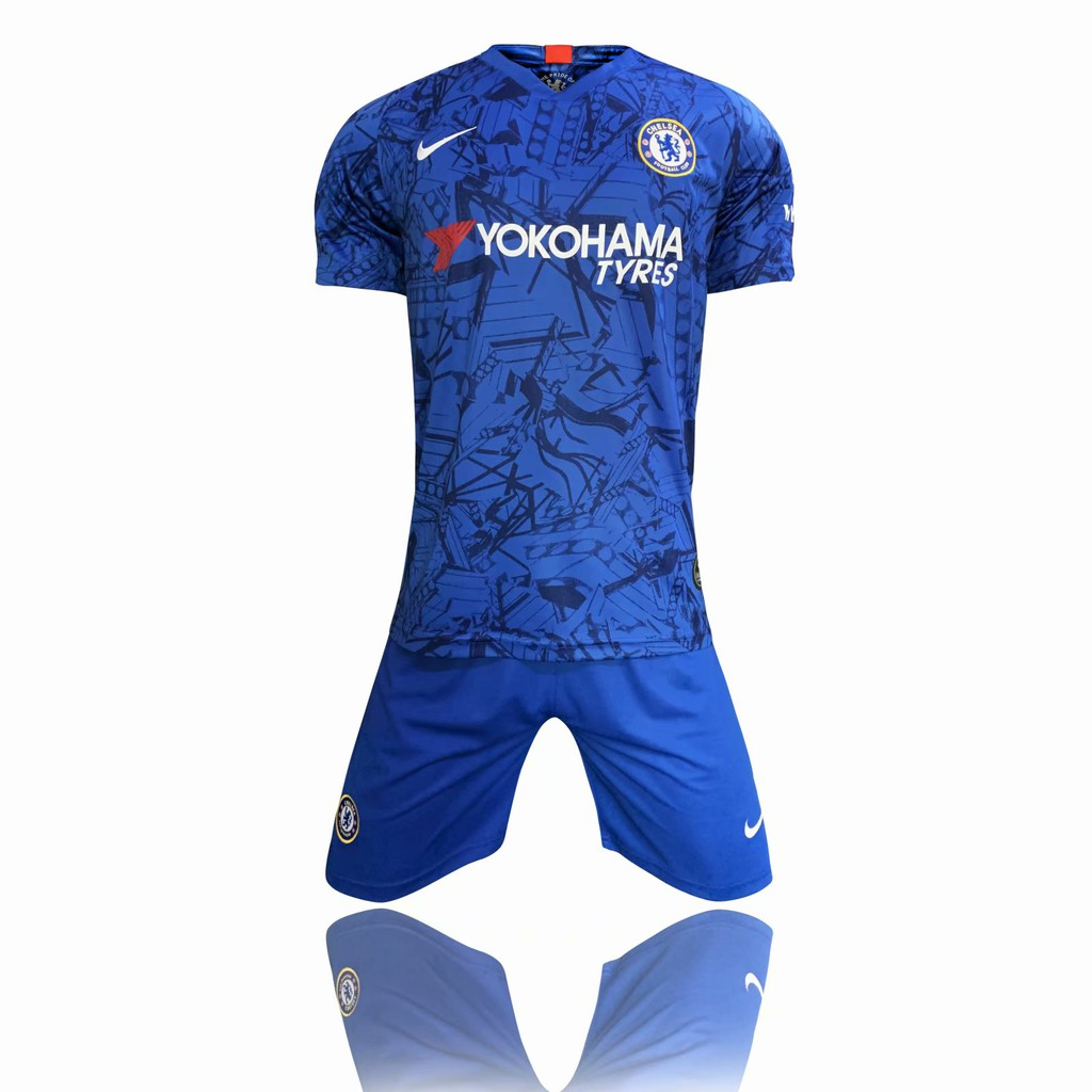 100% authentic 48593 c1459 2019/2020 Chelsea Jersey Home Football Jersey Blue Shirt Football Jersi Suit