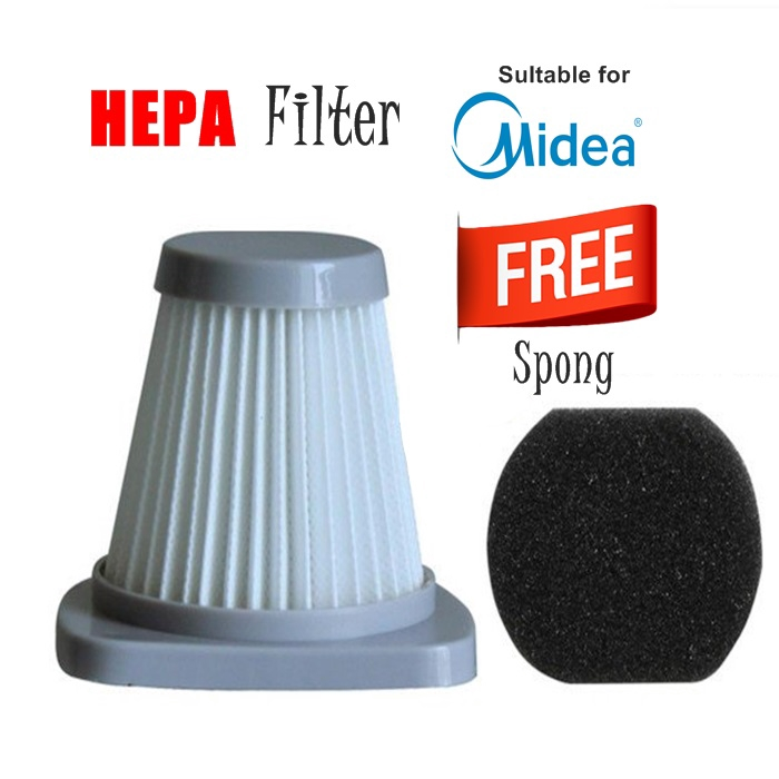N/ANAY-S: ALATAN GANTI PENYEDUT HABUK Replacement HEPA Filter For Midea Sc861 Sc861A