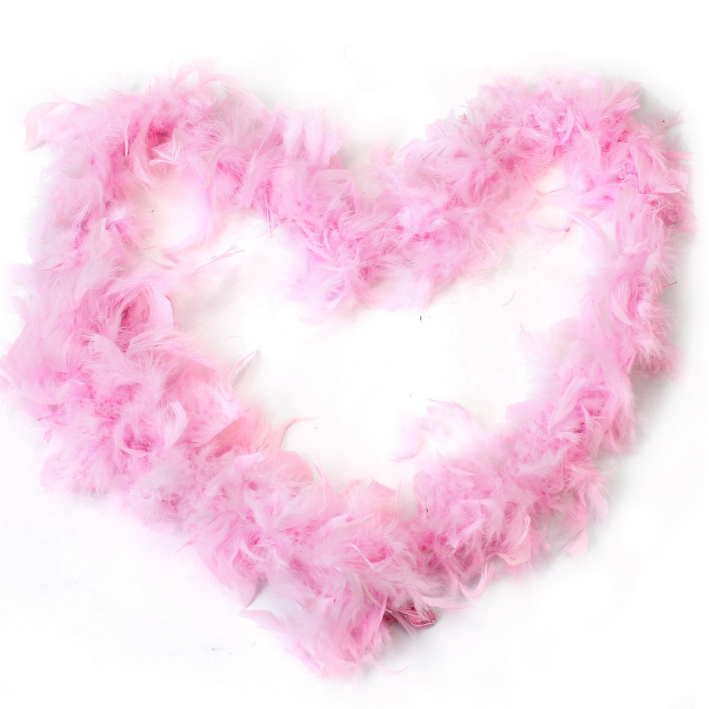 2M Feather Boa Strip Fluffy Craft Costume Fancy Dress Clothes Ornament Props