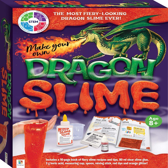 Make Your Own Dragon Slime Kit ISBN: 9781488935466