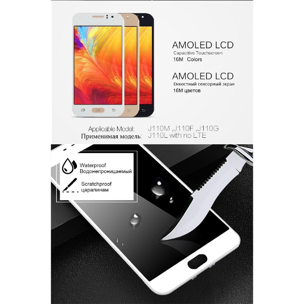 Can Adjust Brightness LCD For Samsung Galaxy J1 Ace J110 SM