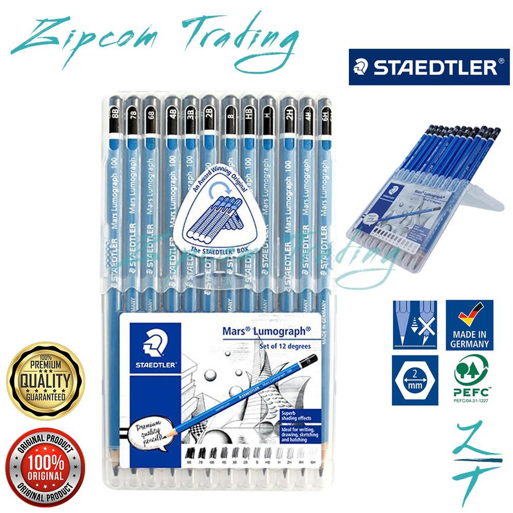 STAEDTLER Mars Lumograph Pencils Set Box
