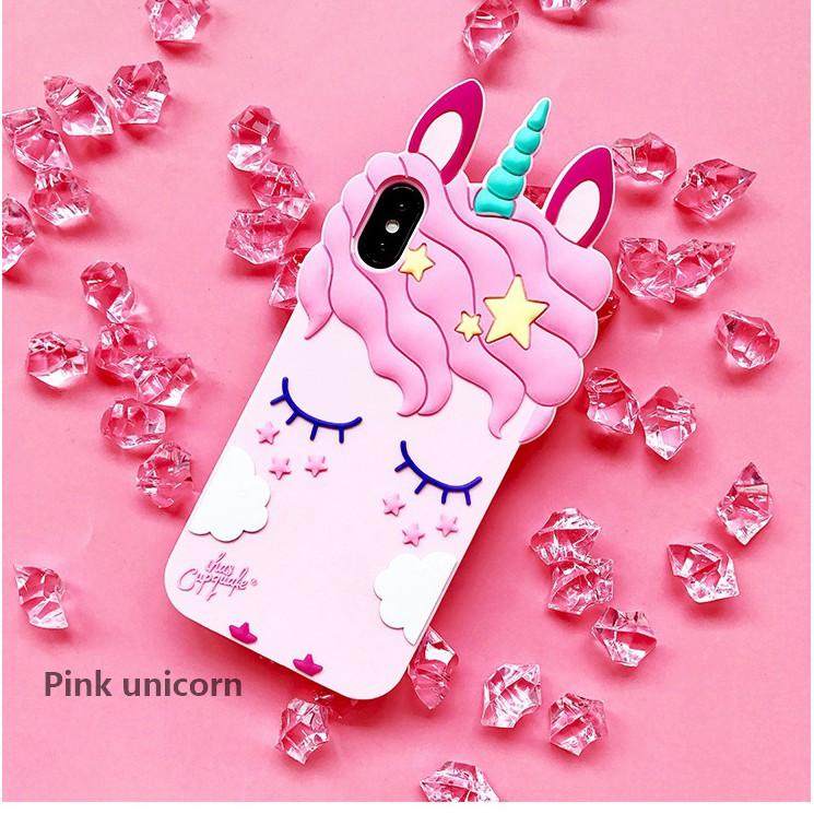 for oppo a37 cute flexible silicone softcover cute unicorn