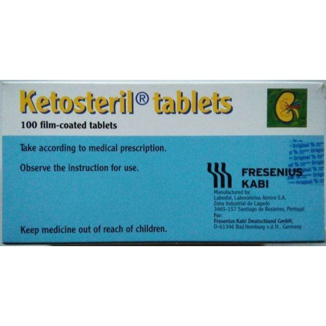 Ketosteril Tablets 100's