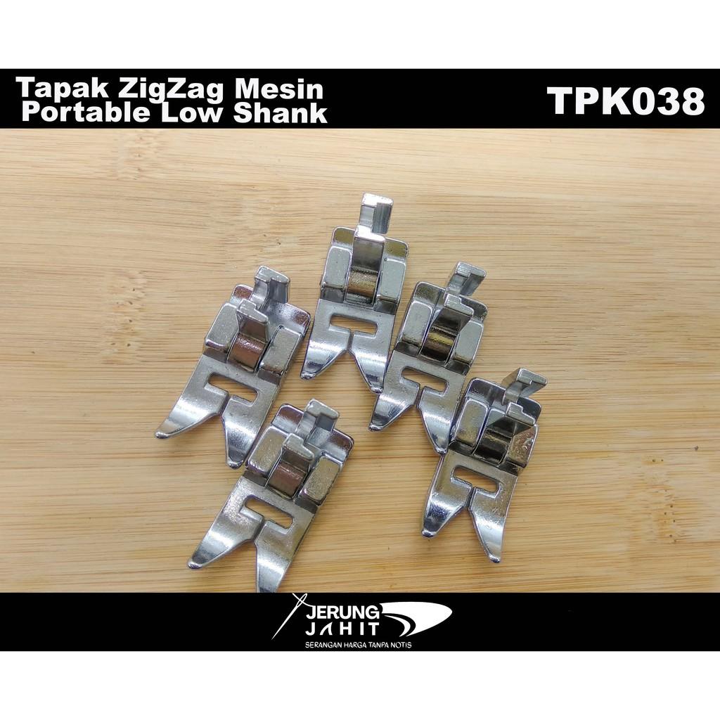 TAPAK ZIGZAG (MESIN PORTABLE)  LOW SHANK - TPK038