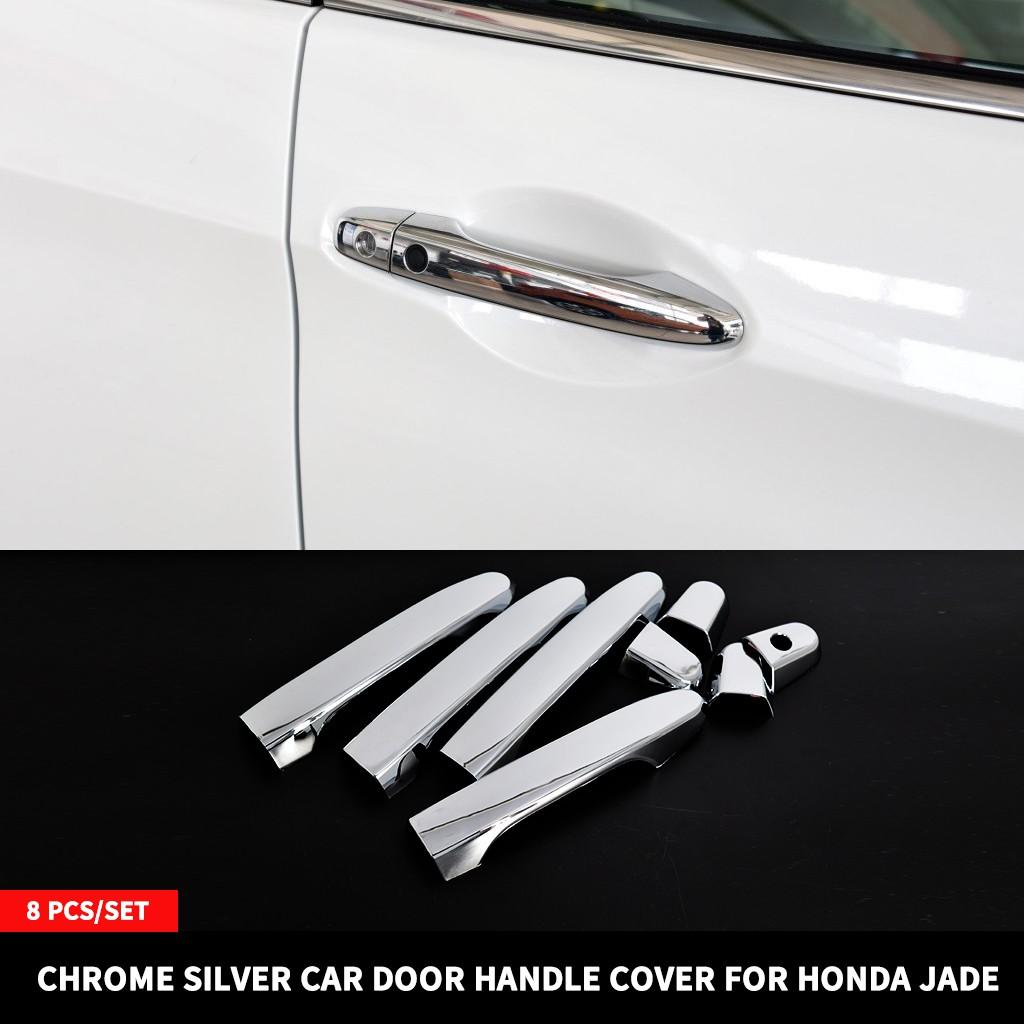 For Honda HRV HR-V 16-19 Chrome Keyless Door Handle Cover Protector Molding Trim