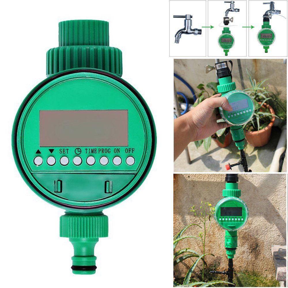 Automatic Electronic Water Timer Hose Tap Irrigation Plant Watering Controllers