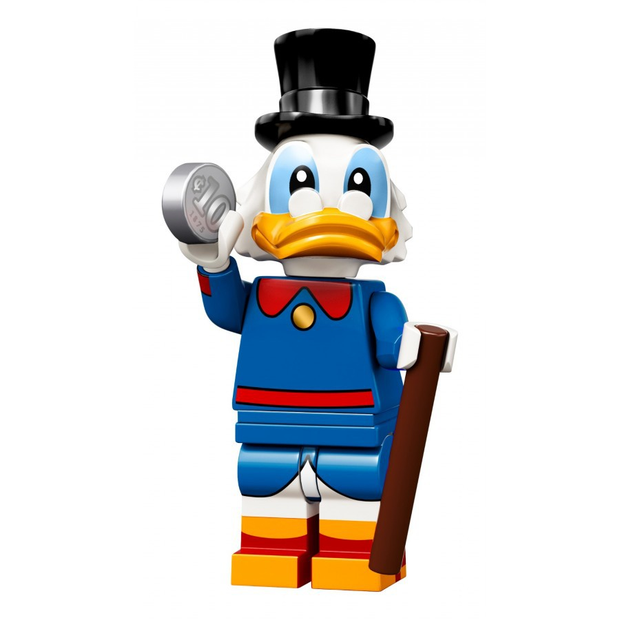 Genuine Lego Mini figure SCROOGE McDUCK from Disney series 2