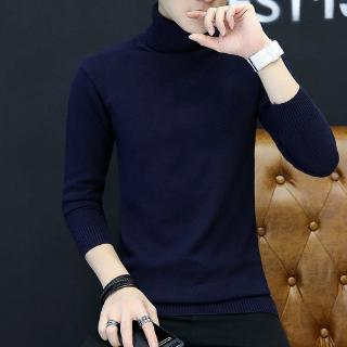 2020 New Sweaters Men Solid Color V Neck Long Sleeve