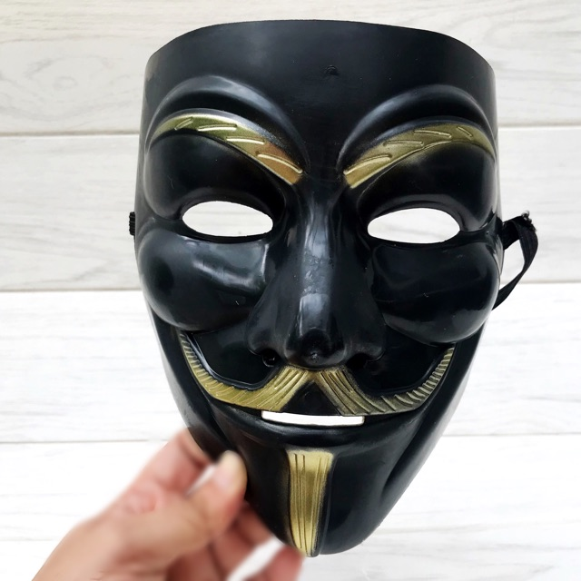 Anonymous Hacker Vendetta Guy Face Mask Halloween Fancy Party Cosplay Party Bong