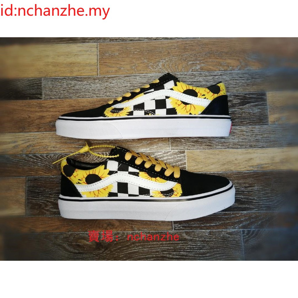 Sunflower vans shoes