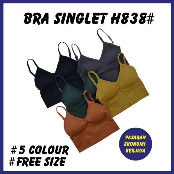 BRA SINGLET H838#/ PAKAIAN DALAM/ BRA SINGLET/ BAJU DALAM WANITA