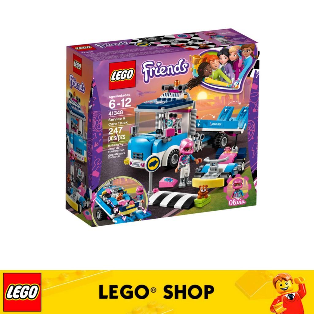 Car Spinning Wash Friends Brushes Lego 41350Shopee Malaysia qVSzMLGUp