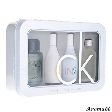 Calvin Klein CK 4 Pieces Miniature Perfume Collection Set (Gift Set)
