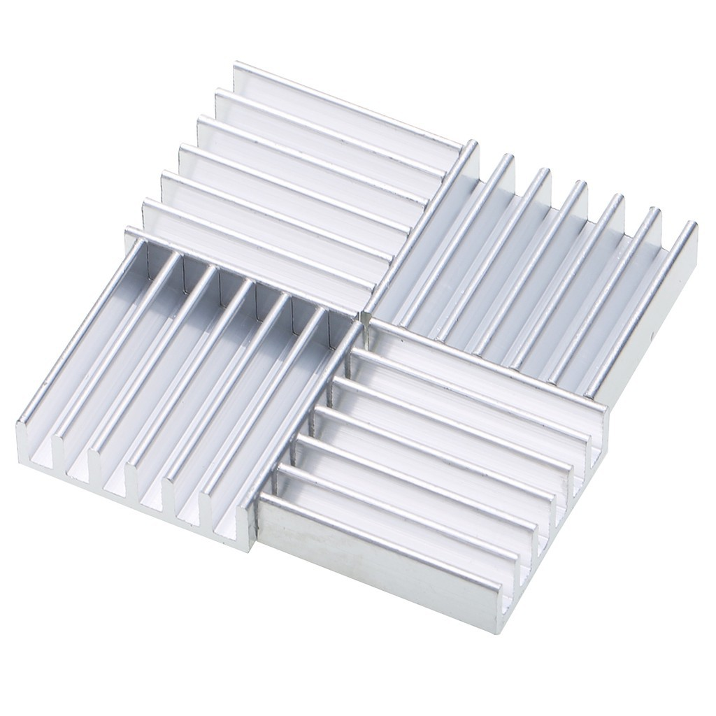 10pcs 20mm*20mm*6mm Heat Sink Aluminum Heatsink Radiator for IC MOSFET SCR