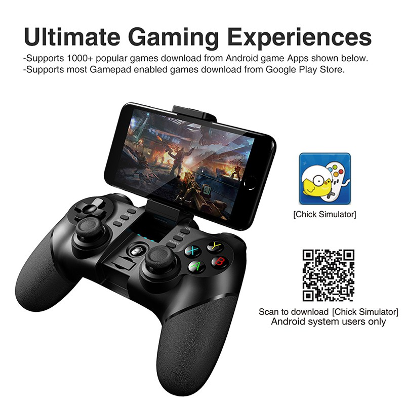 ipega 9076/9077 Gamepad Bluetooth Game Controller 2 4G Joystick for PUBG