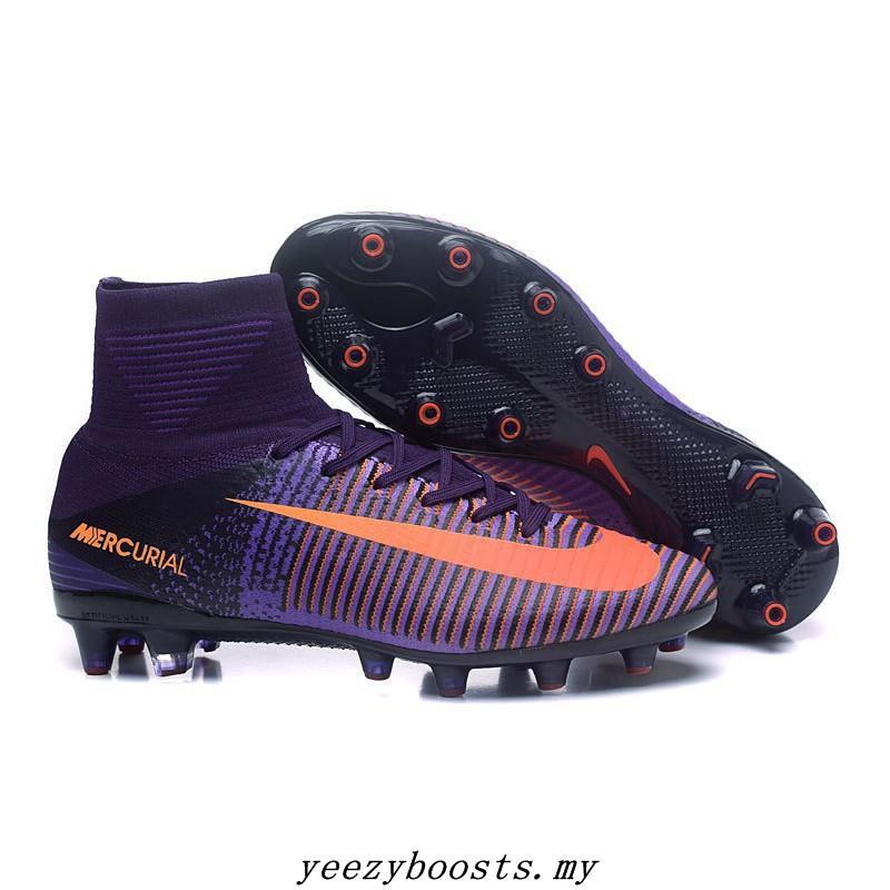 san francisco fbd40 1c3a8 NIke Mercurial Superfly V FG soccer futsal football shoes