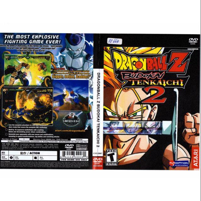PS2 Games CD Collection Dragon Ball Z BUDOKAI TENKAICHI 2