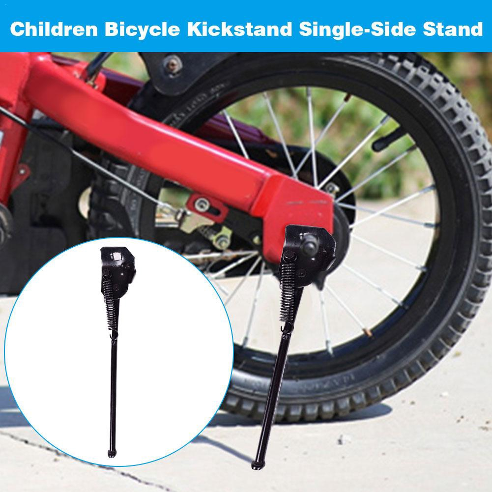 Bike Kickstand for Kids Child Bicycle Kickstand for 12 14 16 18 Inch Kids Bike Side Stand Folding Bicycle Stand Support Rear Mount