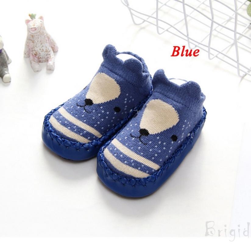 Cute Newborn Baby Girl Soft Sole Crib Shoes Anti-slip Sneaker Prewalker 0-18M