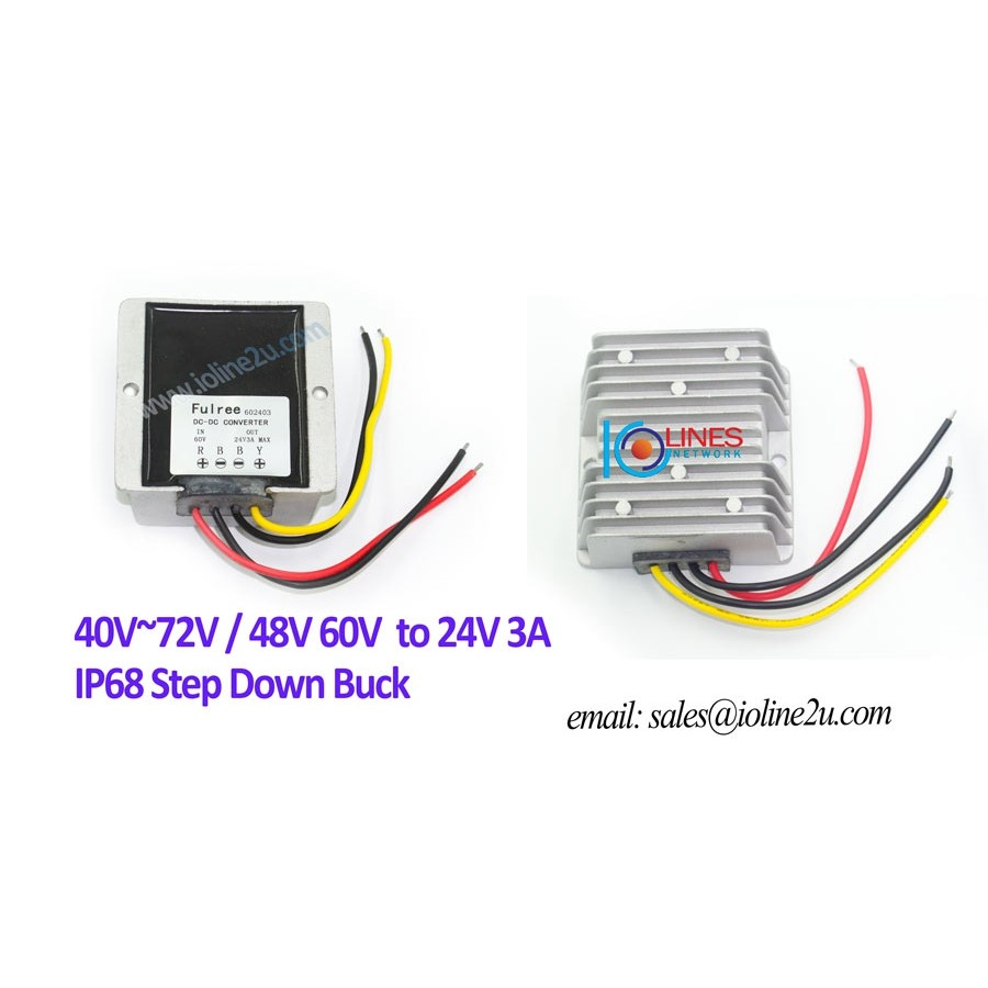 20v 18v 24v Ac 15v40v 36v Dc To 12v 3a 36w Power Converter Step 12a Laptop Adapters Of 144w With Short Circuit Protection Down Buck Shopee Malaysia