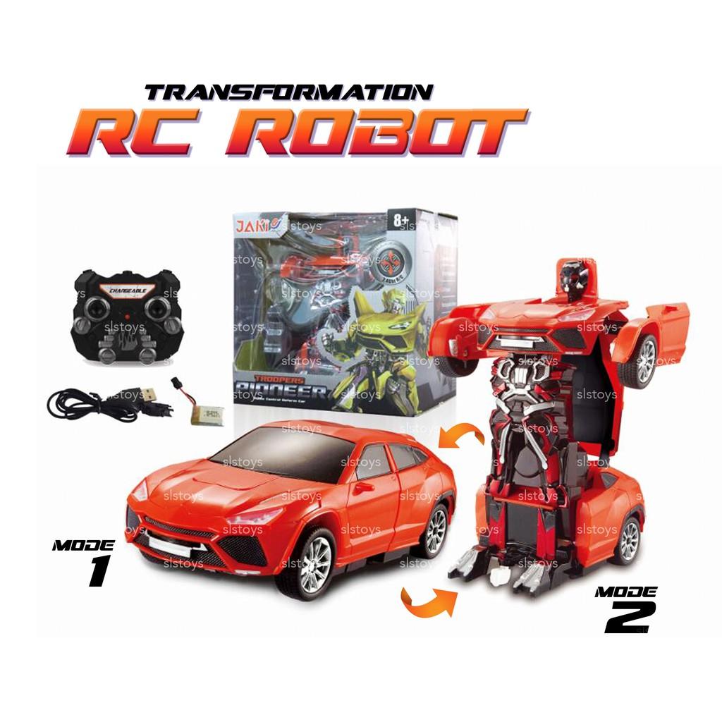 Troopers Violent RC Radio Remote Control Transformer Car Deform Robot 2 IN 1