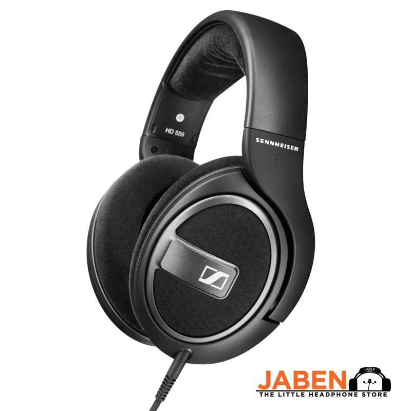 Sennheiser HD 559 Audiophile Detachable Cable Open Back Over-Ear Headphones [Jaben]