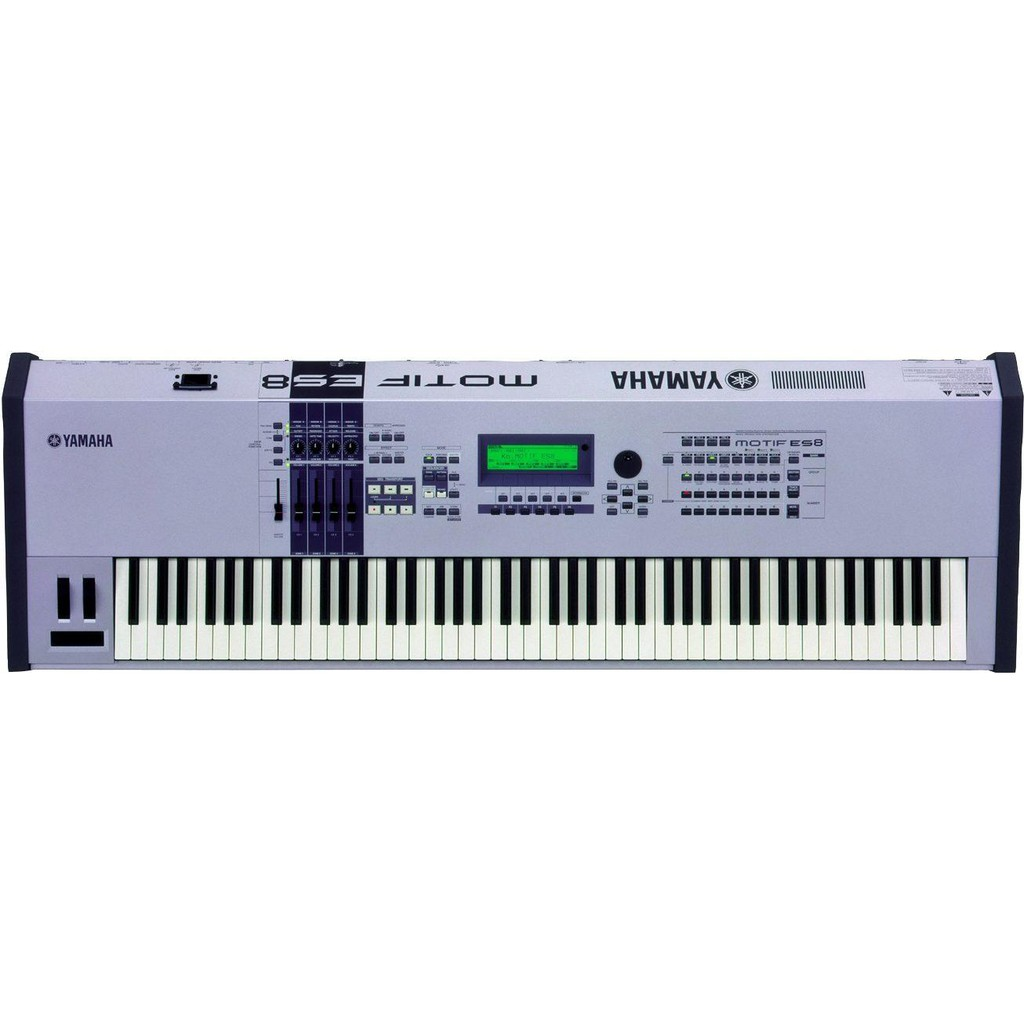 Yamaha Motif ES8 Electronic Keyboard Piano Synthesizer (New Old Stock) piano for adult