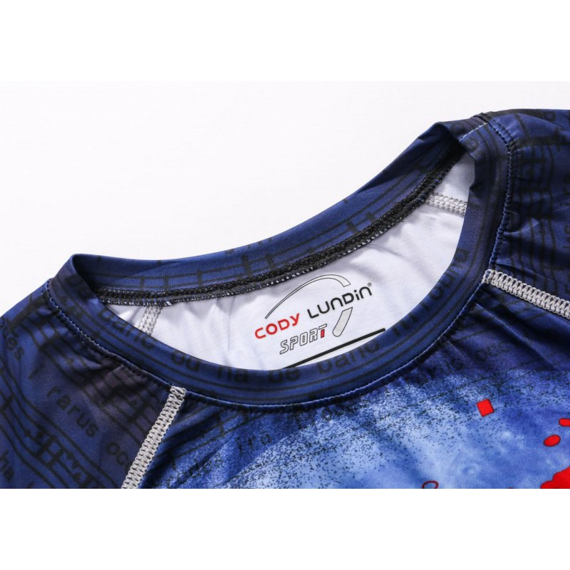 Cody Lundin Moon Wolf Printed Sport Men's Short Sleeve