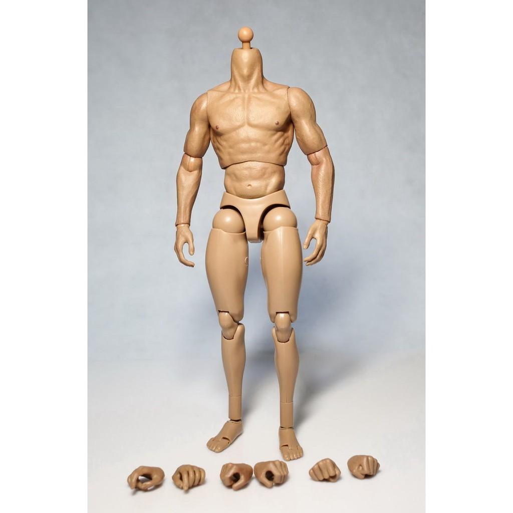 "ZC TOYS 12/"" Muscular 1//6 Scale Man Male No Neck Body F Head Model Figures Dolls"