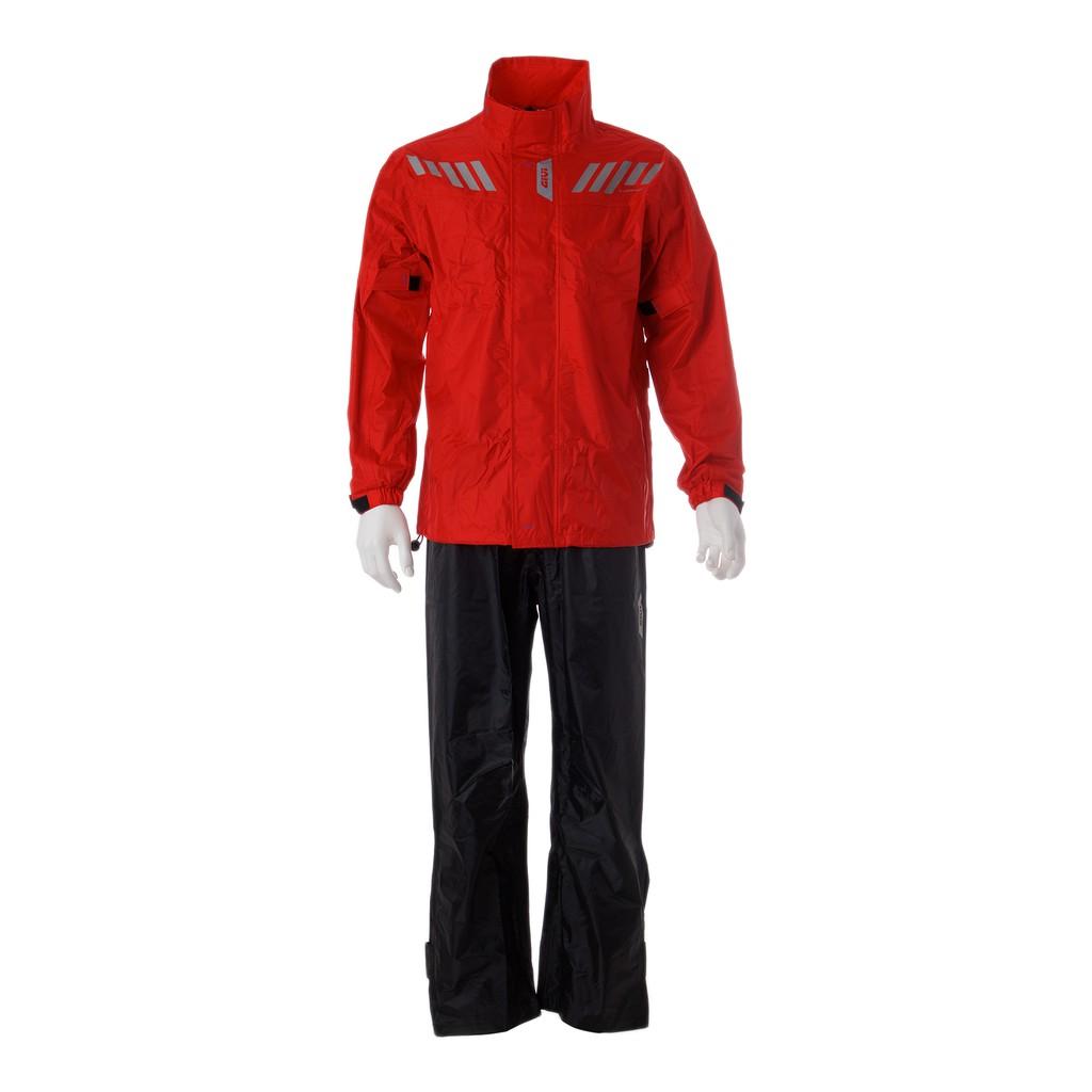 Raincoat GIVI RRS04 Ridertech Baju Hujan (Red Black)