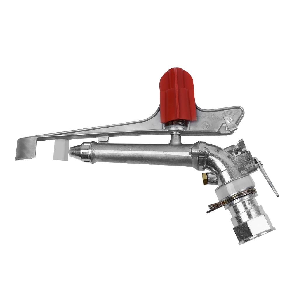 1.5 360° Impact Sprinkler Large Area Water Irrigation Spray Gun Tool Long Range