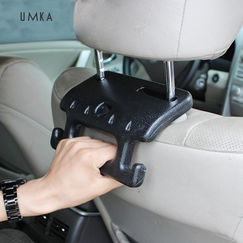 2pcs Chic Car Seat Back Vehicle Hanger Hooks Headrest Mount Holder Racks
