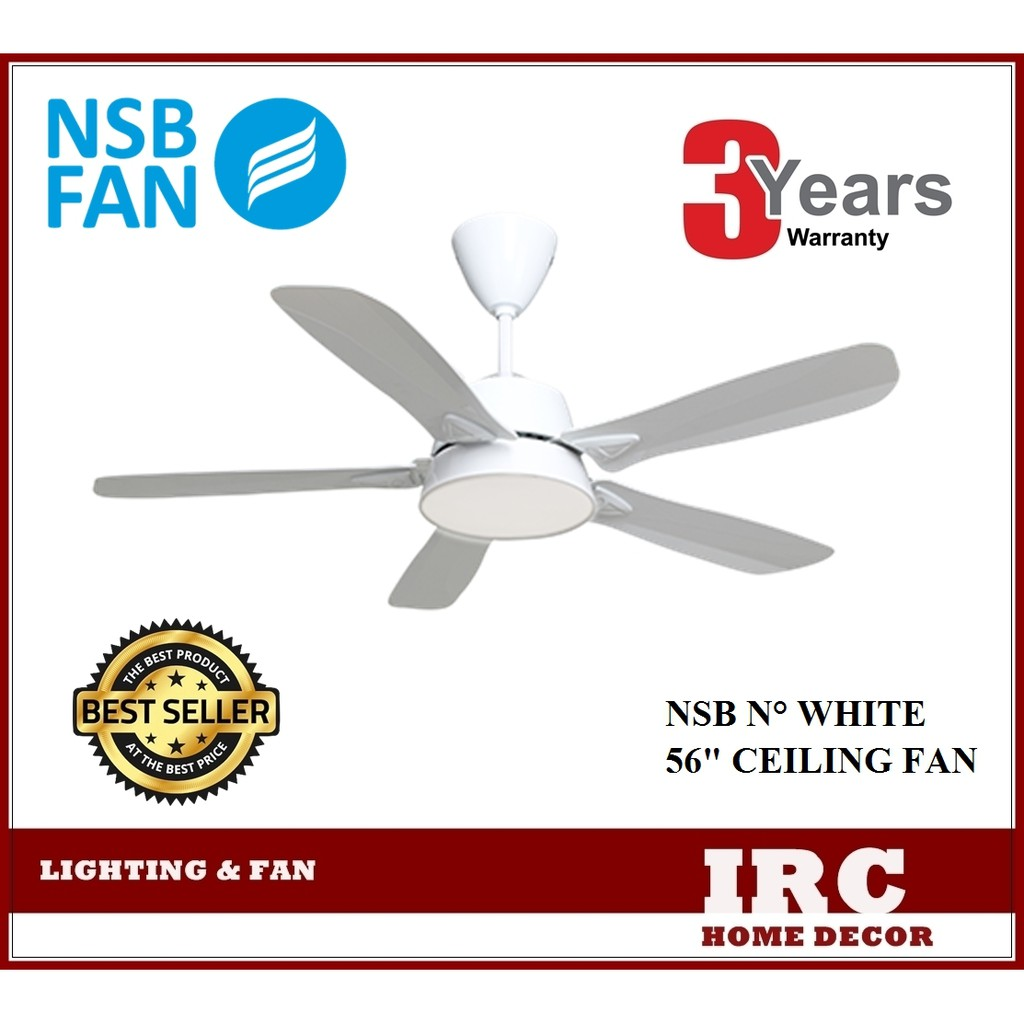 Ceiling Fan Nsb N 56 With Remote Control Shopee Malaysia