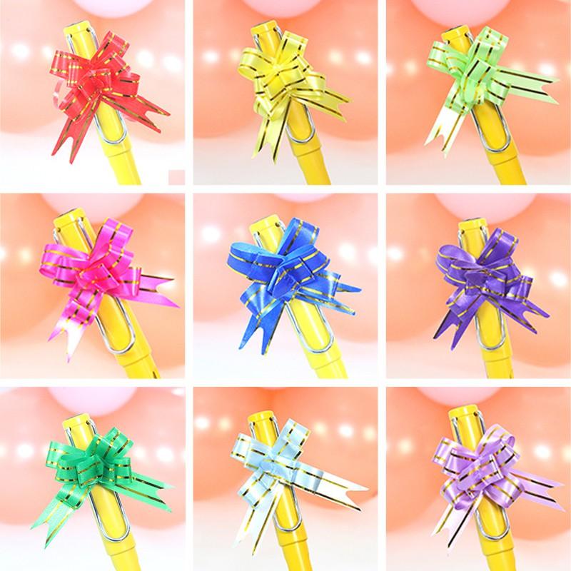 20 Pack 5cm Pull Bow Ribbons Florist Presents Wedding Birthday Celebrations