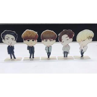 Korean IKON Cartoon bureau decor Licensing Acrylique Stand Bobby donghyuk yunhyeong