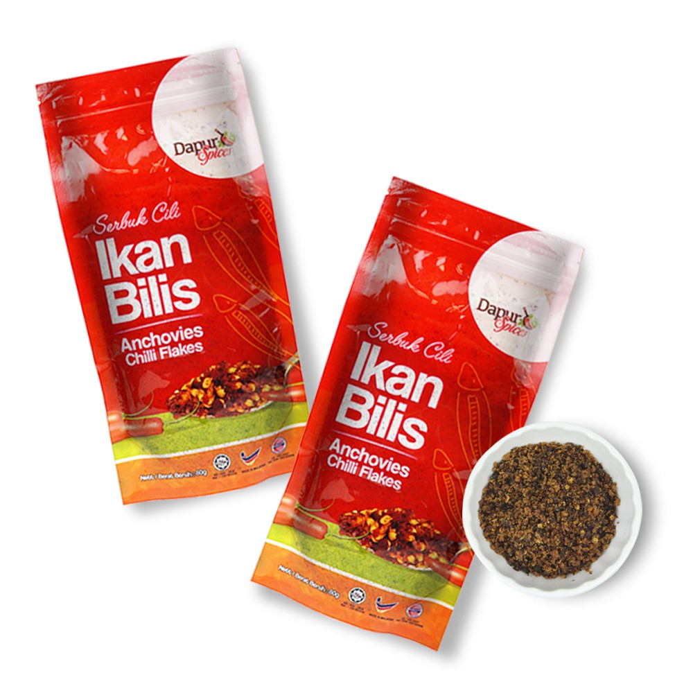 (2)Spicy Anchovies/ Ikan Bilis Chili Flake, EXTRA SPICINESS