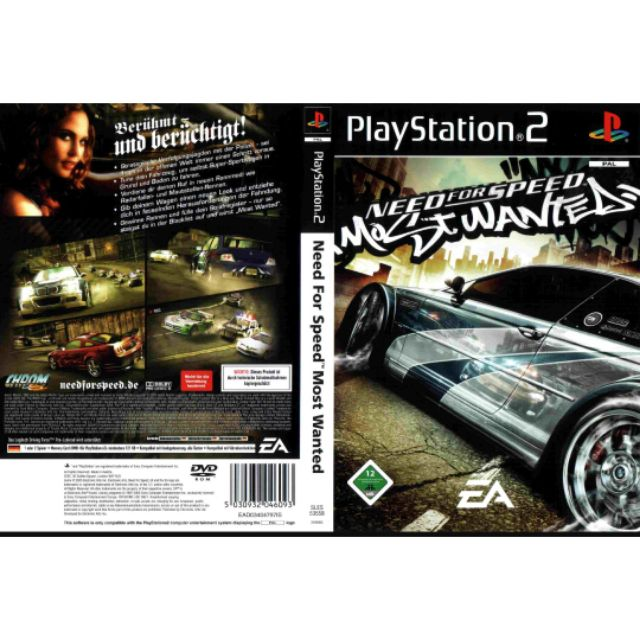 Ps2 Need For Speed Most Wanted Black Edition Ori Shopee Malaysia