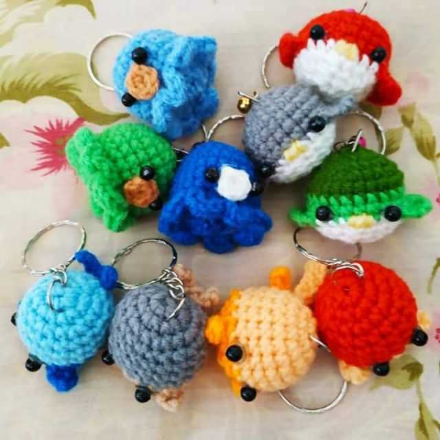 Cute and Fun Keychain Crochet Patterns Free   640x640