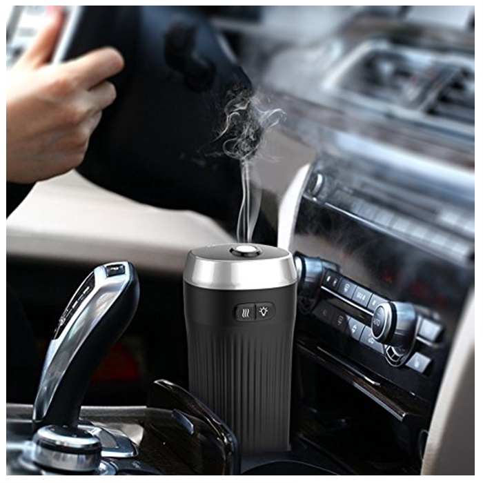 MALAYSIA: 50ML AROMA TERAPI KERETA/ Car Aroma Diffuser Humidifier Bottle – Ultrasonic Mist Purifier Anion