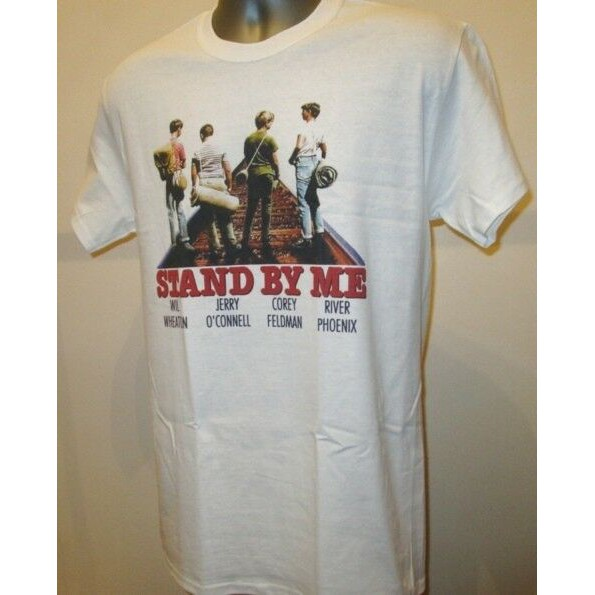 Stand By Me Friends Men/'s T-Shirt