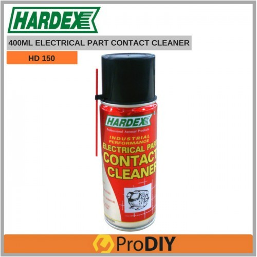 HARDEX HD 150 400ml Electrical Part Contact Cleaner | Shopee