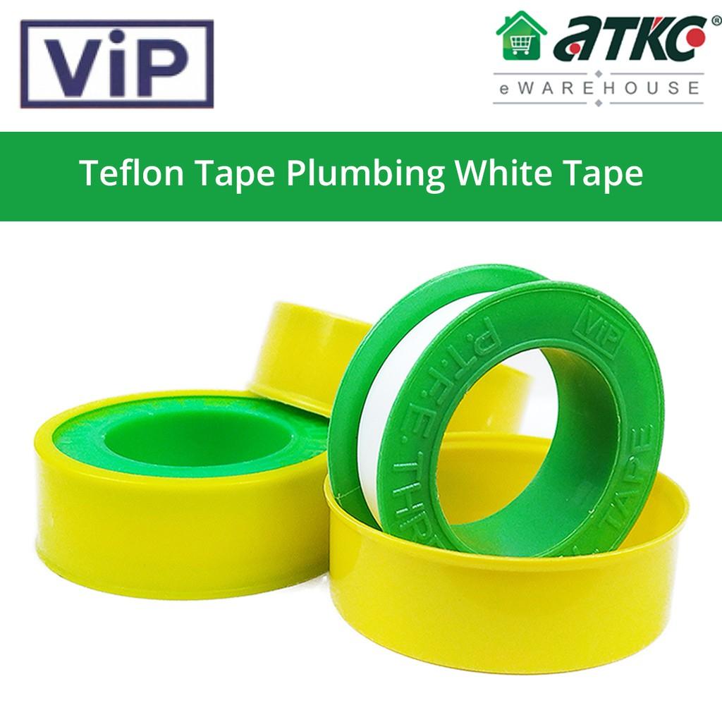 Teflon Tape Plumbing White Tape PTFE Thread Seal Tape - 1PC