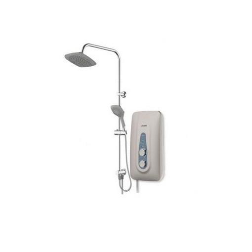 Joven Rain Shower SB11P Water Heater Turbo Booster Pump  (Silver/dark grey/white)