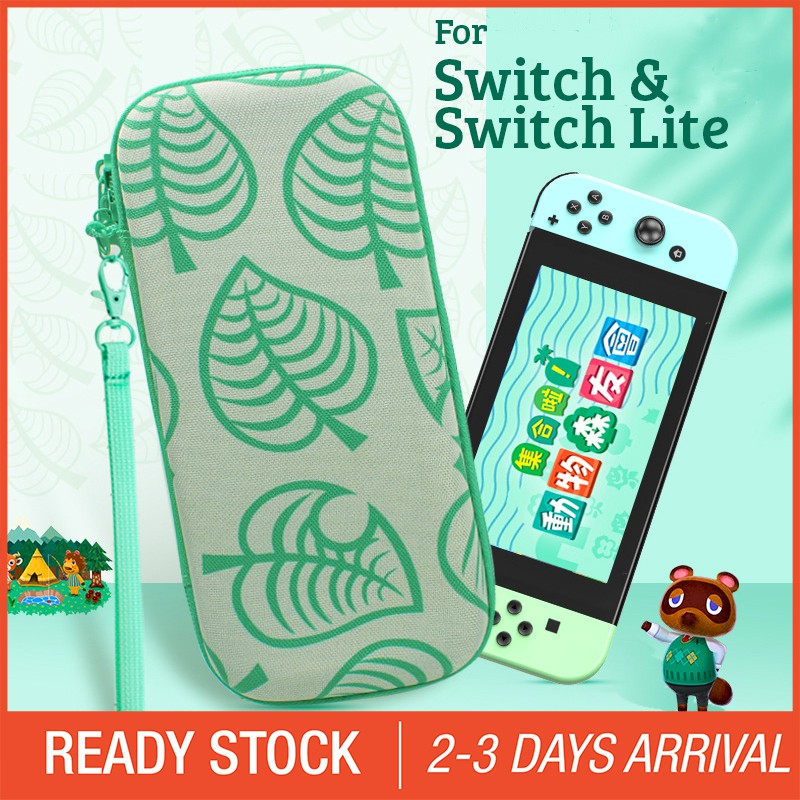 Animal Crossing Theme Nintendo Switch Switch Lite Carrying Case