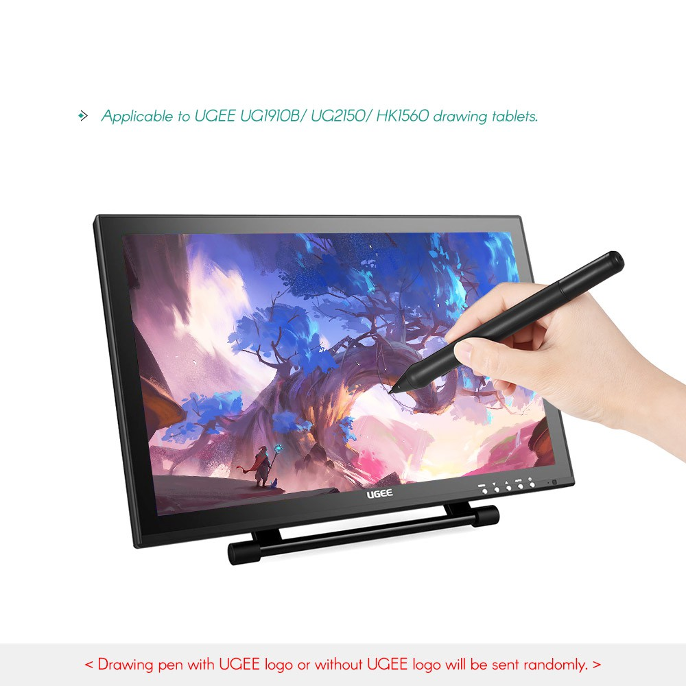 UGEE P50SD Rechargeable Stylus Drawing Tablet Pressure Pen with USB  Charging C