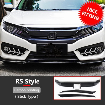 Honda Civic FC Front Grill Stick Type