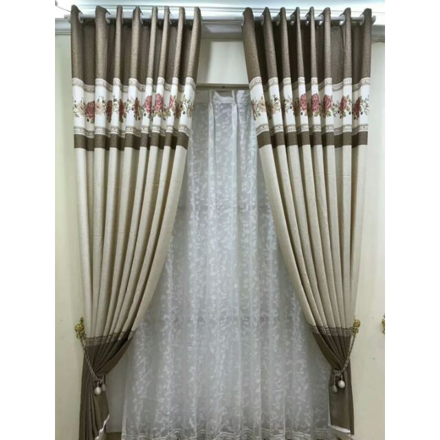 Langsir Eyelet Curtain Sliding Door Tingkap Window Terkini Terbaru Shopee Malaysia