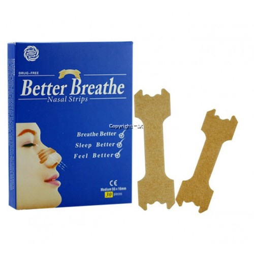 Better Breathe Nasal Strips 30pcs/box